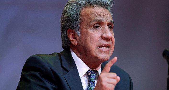 Le président élu de l'Équateur, Lenin Moreno