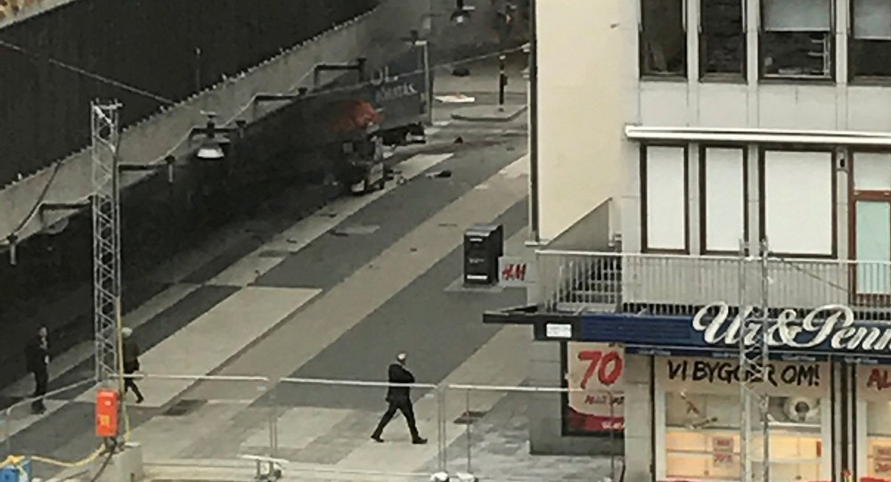 La police qualifie d'attentat l'accident à Stockholm