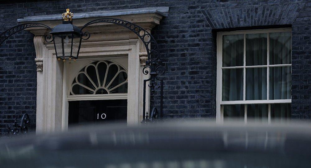La résidence de la Première ministre britannique Theresa May
