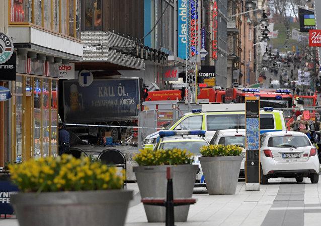 Attentat de Stockholm: le suspect identifié par la police