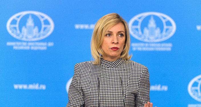 ministère des Affaires étrangères Maria Zakharova