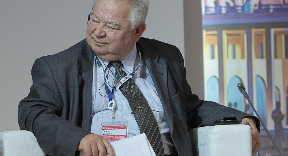 Le cosmonaute soviétique Gueorgui Gretchko