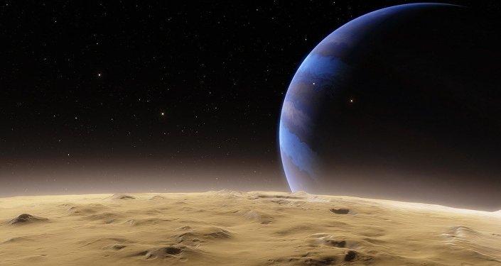 Espace lointain, image d'illustration
