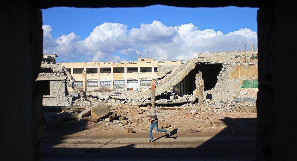 Destructions à Daraa