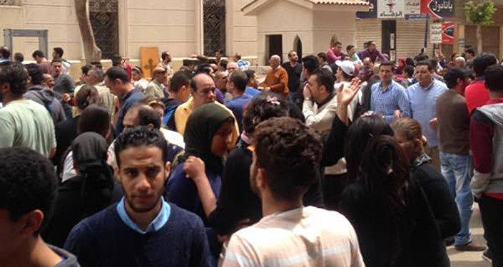 Explosion dans une église au nord du Caire: 25 morts et 72 blessés