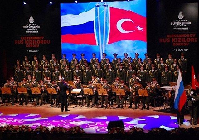 Le pouvoir unificateur de l'art: l'Ensemble Alexandrov se produit à Istanbul