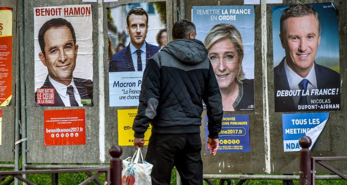 Lancement officiel de la campagne présidentielle en France