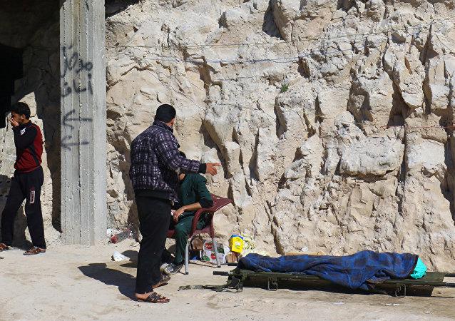 L'attaque chimique à Idlib