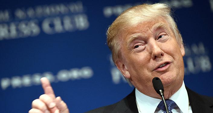 Donald Trump - foto de arquivo de 2014