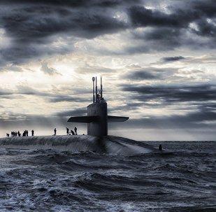 sous-marin, image d`illustration