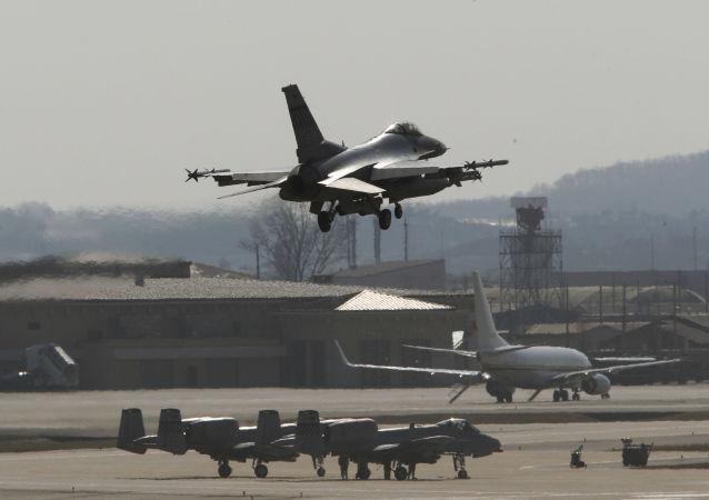 base aérienne d'Osan en Corée du Sud, image d'illustration