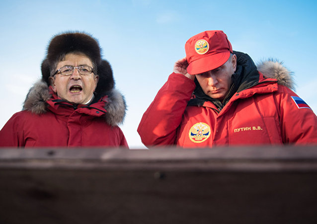 Jean-Luc Mélenchon et Vladimir Poutine, collage créé par la rédaction Sputnik