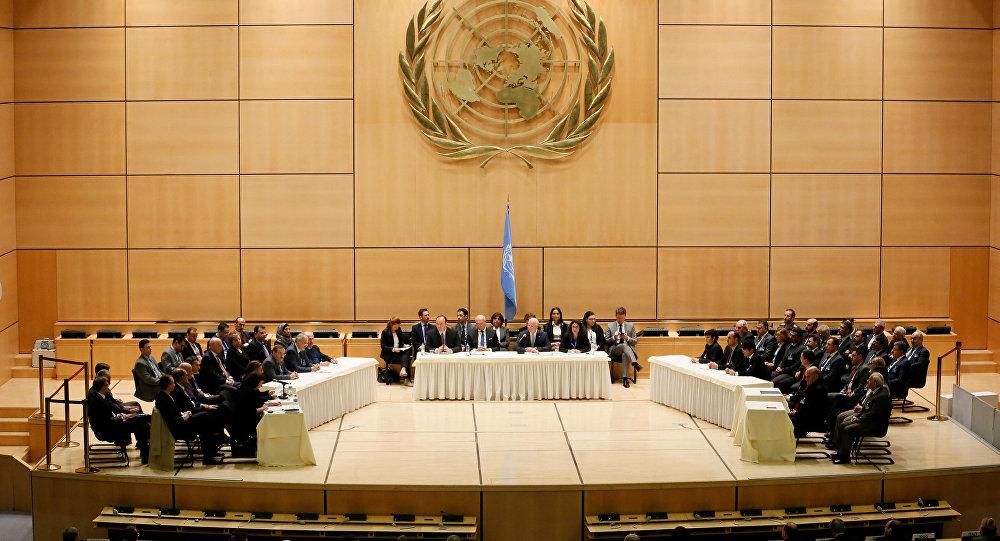 Palais des Nations à Genève, Suisse