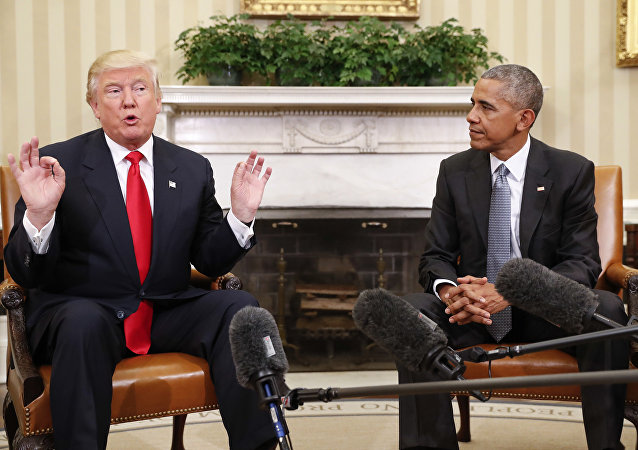 À cause de son manque d'expérience, Trump fait l'inverse d'Obama