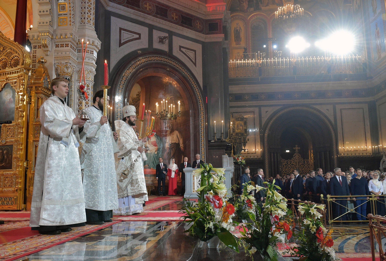 Une messe de Pâques