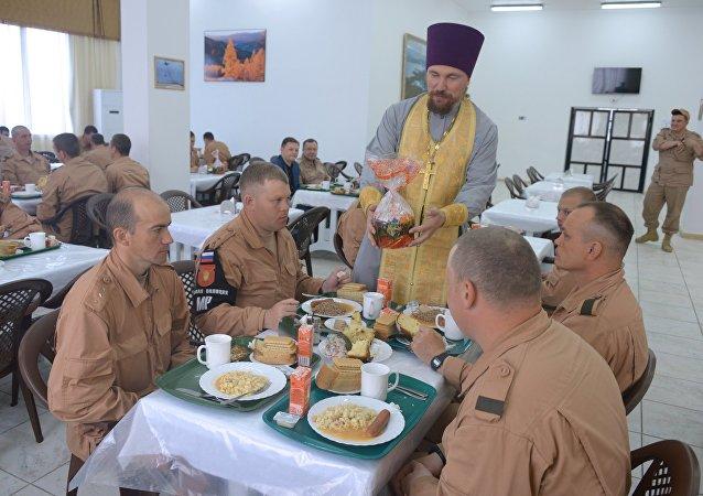 Comment les militaires russes en Syrie fêteront-ils Pâques?
