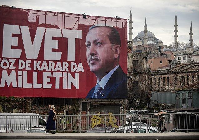 Le référendum en Turquie