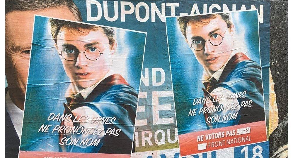 Harry Potter et l'Aladdin appellent Paris à « ne pas voter pour Le Pen »