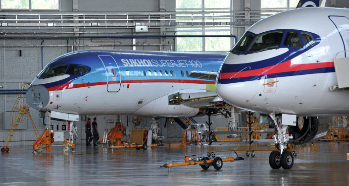 Staff personnel training center for Sukhoi Superjet 100
