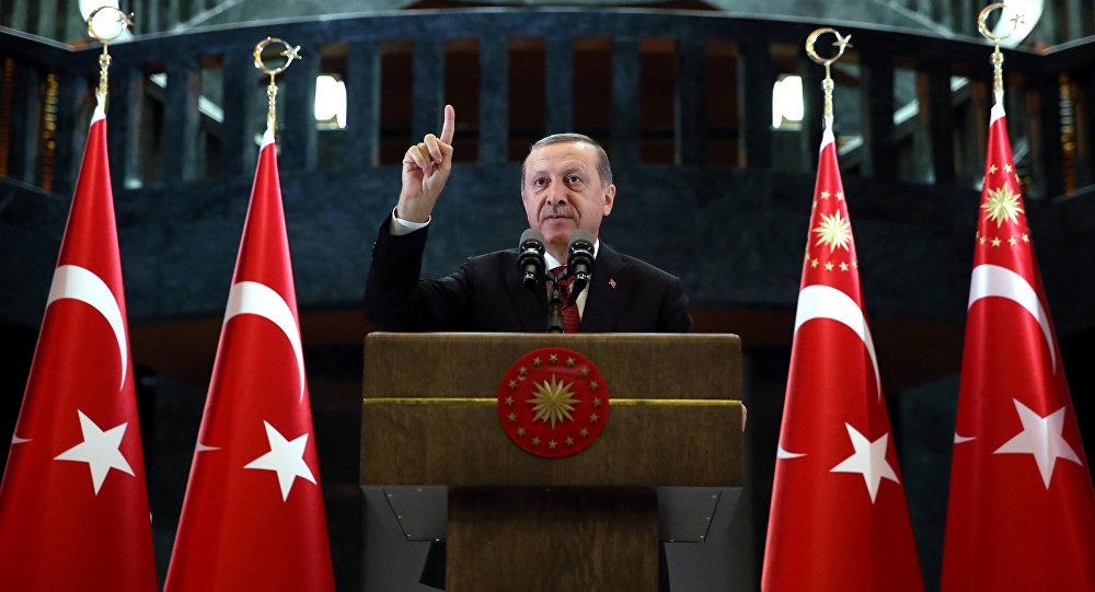 Le secrétaire d'Etat américain rencontre le président Erdogan — Turquie