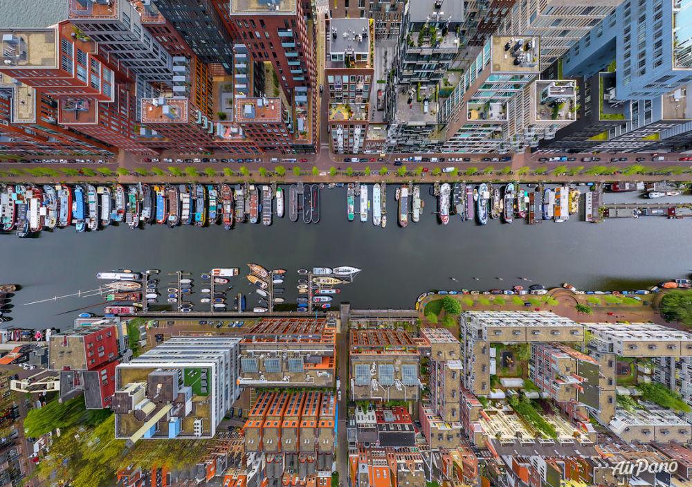 Le quartier Westerdok à Amsterdam