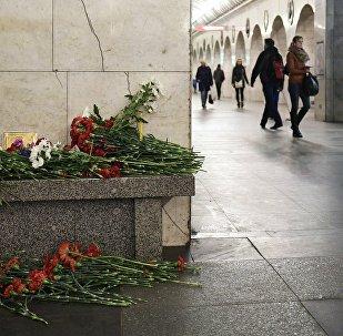 attentat dans le métro à Saint-Pétersbourg