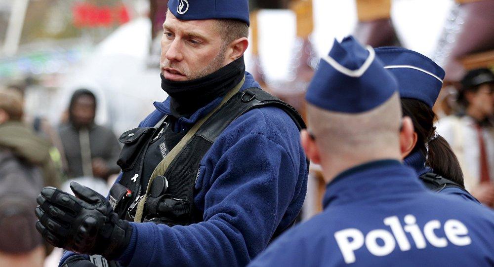 la police en Belgique
