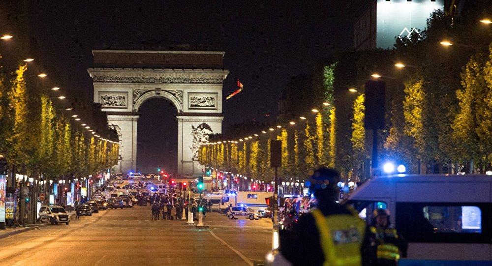L'attentat à Paris