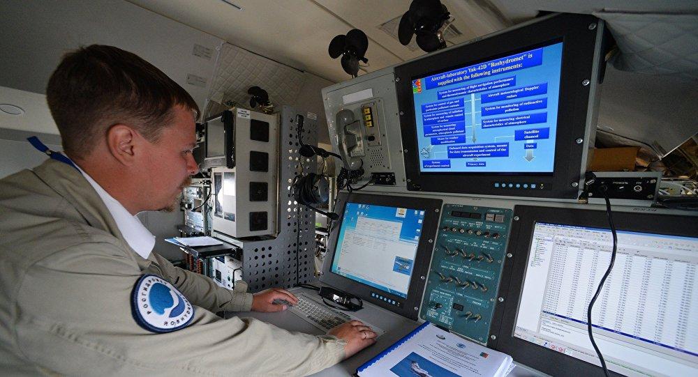 Un avion-laboratoire