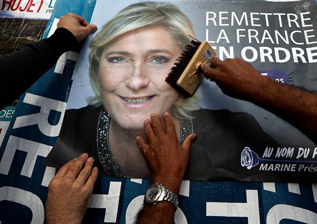 Affiche de Marine Le Pen