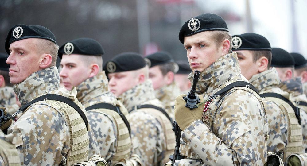 Militaires lettons