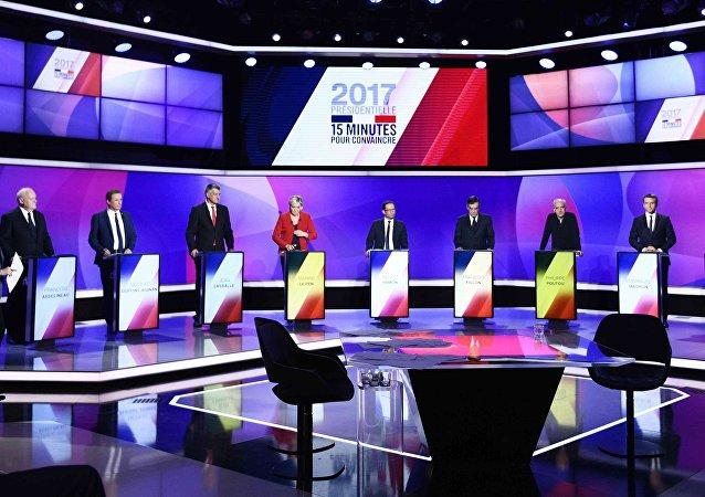 Les 11 candidats à la présidentielle française