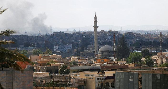 La vieille ville de Mossoul