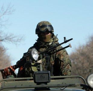 Un soldat ukrainien