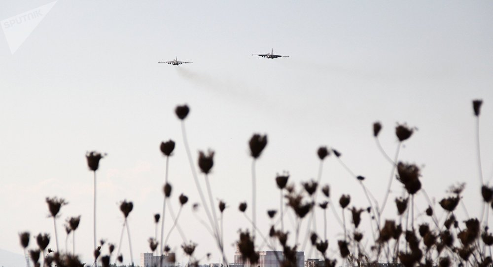 Su-25, la base aérienne Hmeymim