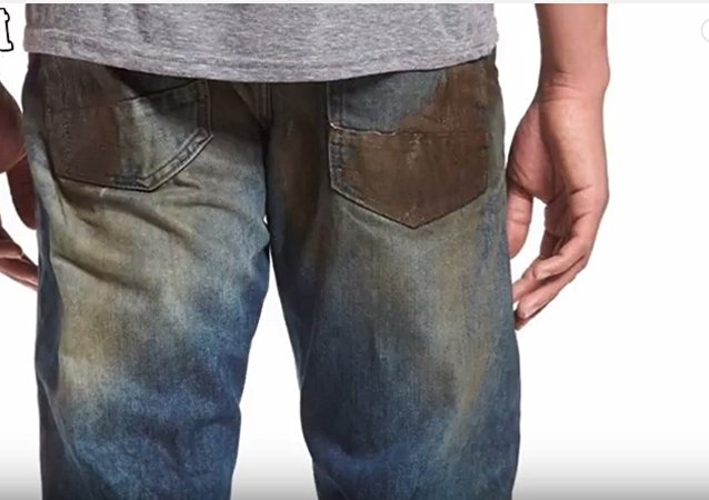 Quand la mode propose de la «mud»... Et ce jean sale vaut plus que vous croyez