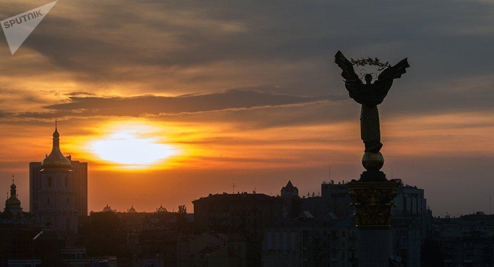 Maidan Square in Kiev