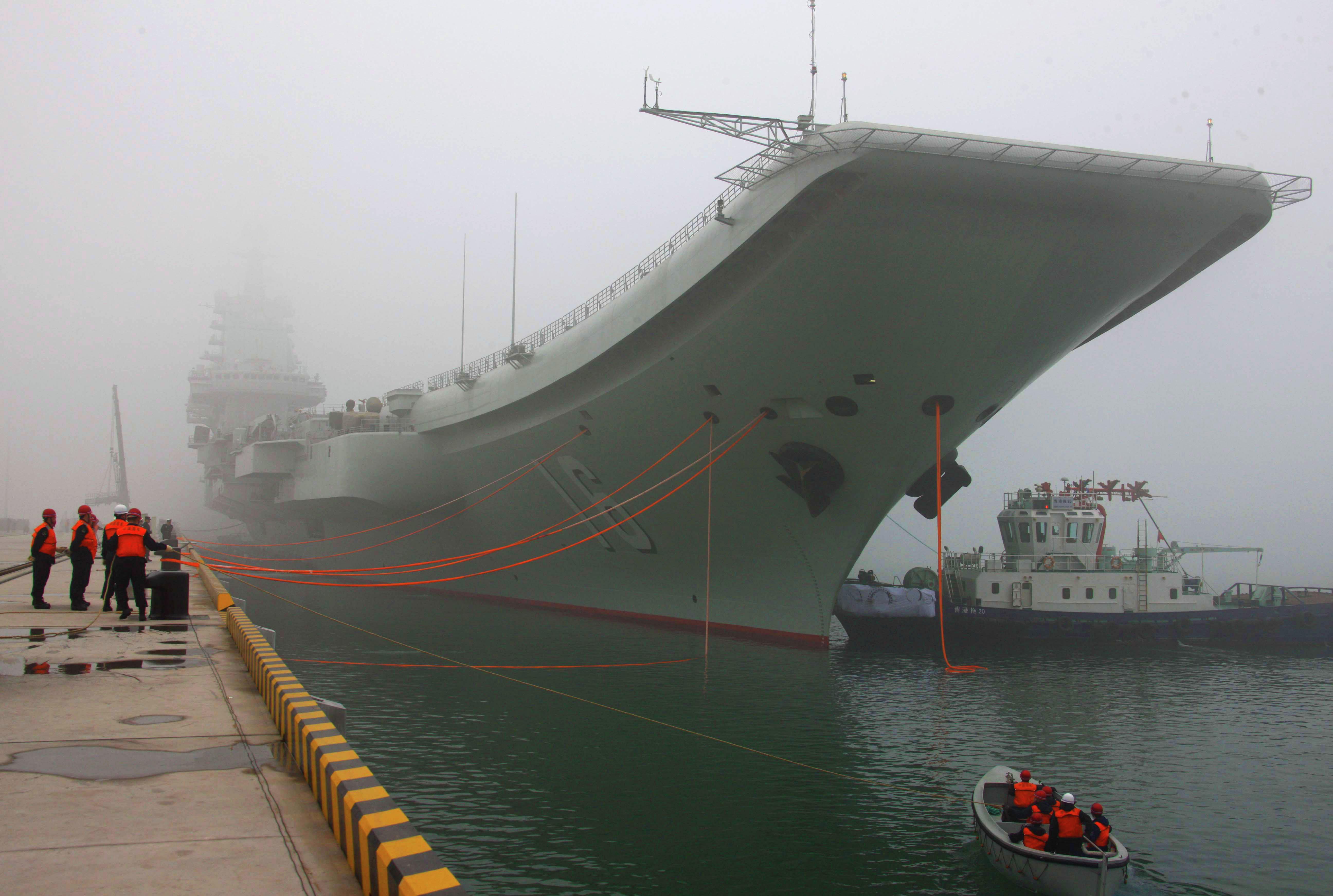 Liaoning, l'unique porte-avions chinois à ce jour