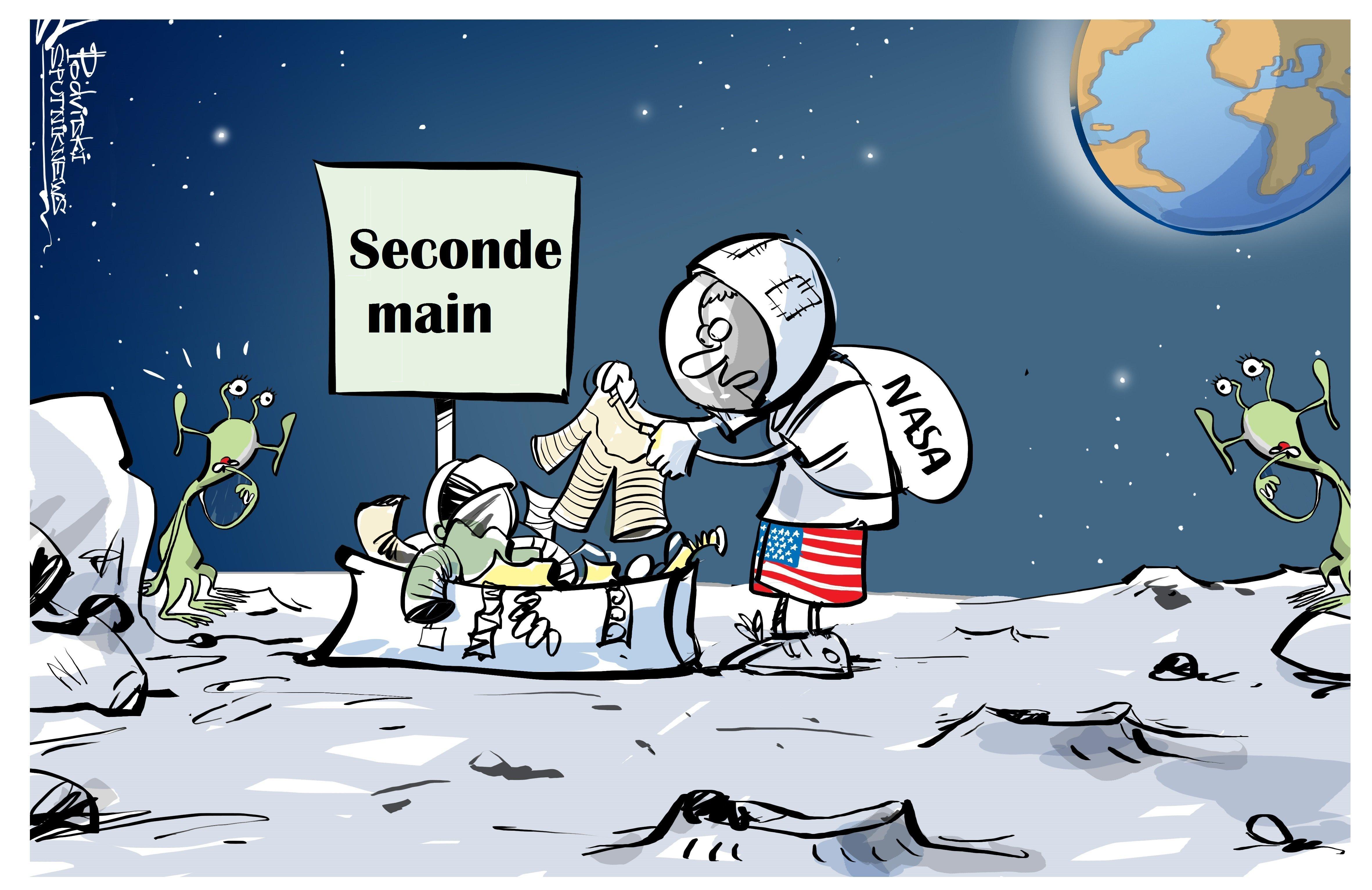 Les astronautes de la NASA risquent d'être privés de scaphandres