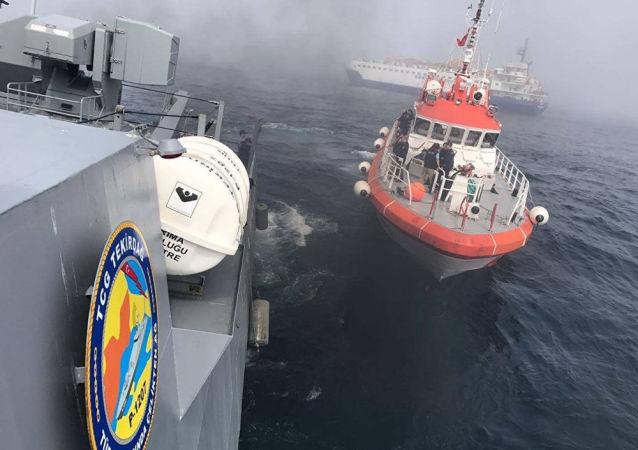 Navire russe naufragé: la Turquie dévoile de nouveaux détails
