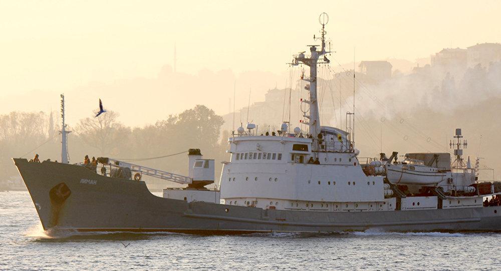 Le navire de renseignement Liman