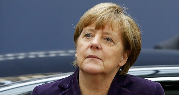 Merkel s'assoit avec les Russes d'Allemagne pour discuter, une première
