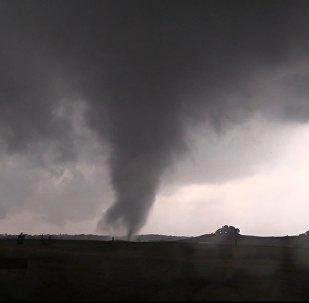 Des tornades à Texas, le 29 avril 2017