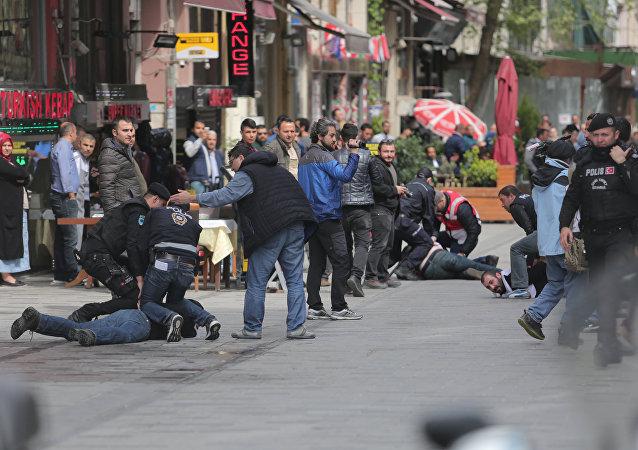 1er mai à Istanbul