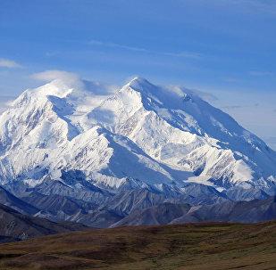 Le Denali, le point culminant des USA, situé en Alaska