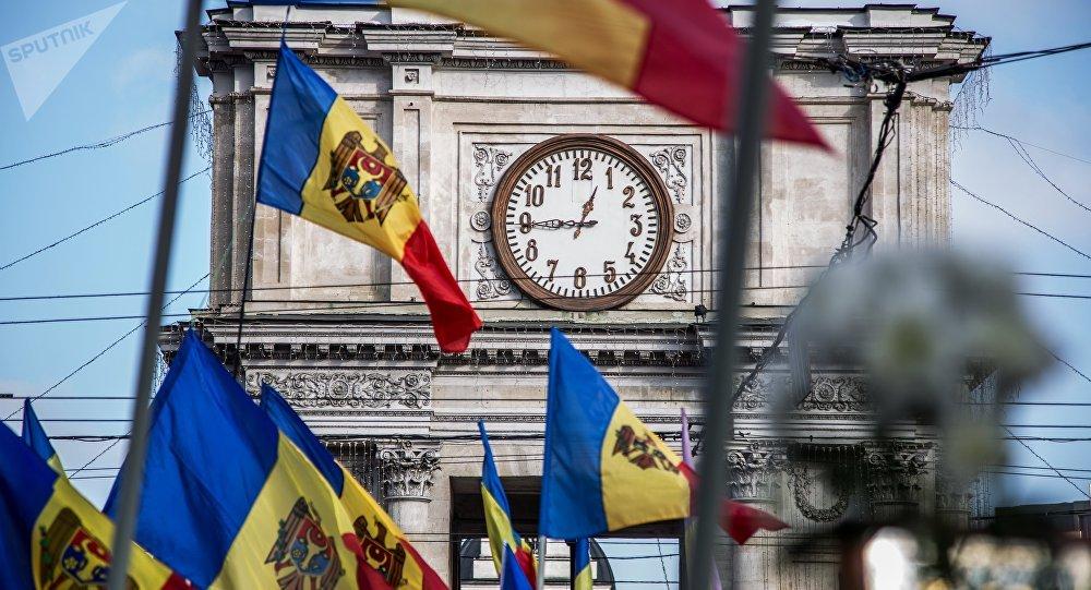 Fête de l'Europe. Chisinau. Archive photo