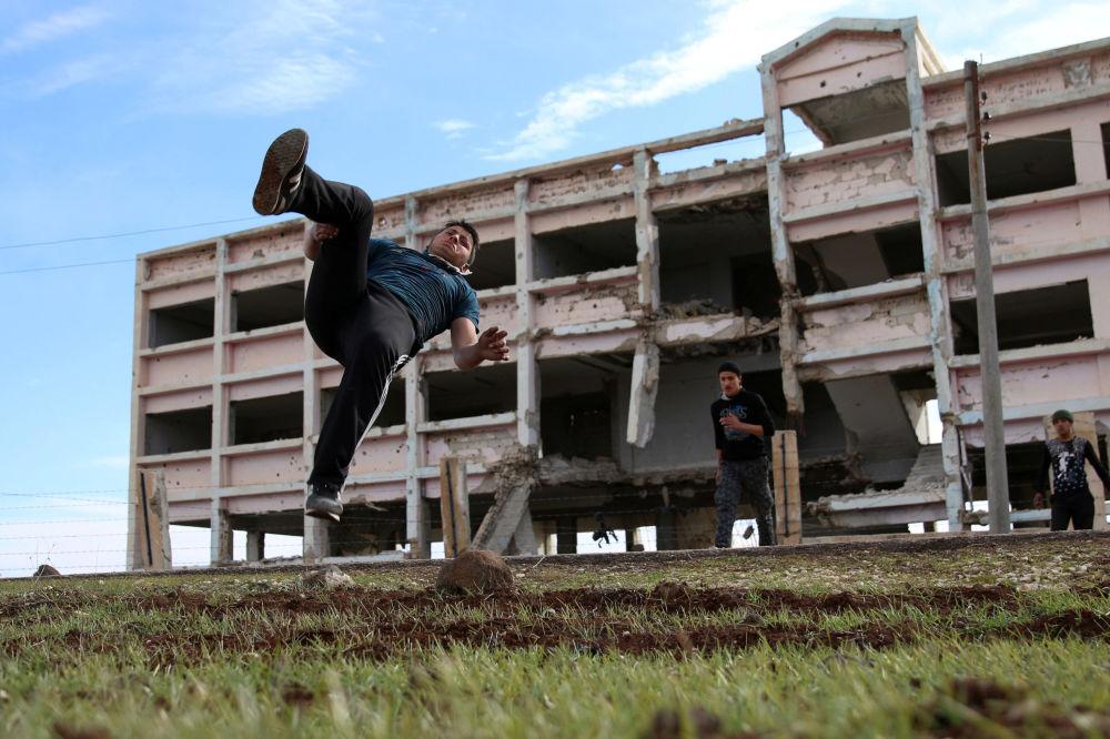Syrie: le parcours, c'est la liberté de choix en pleine guerre