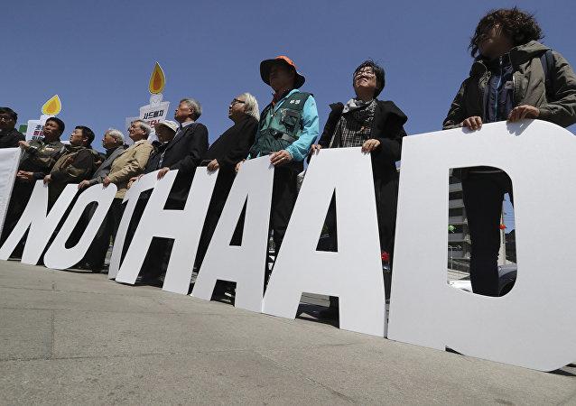 Contre «le chaos et la guerre», Pékin dit non au déploiement du THAAD en Corée du Sud