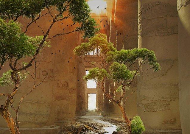 Un «jardin funéraire» de l'ère pharaonique découvert en Égypte