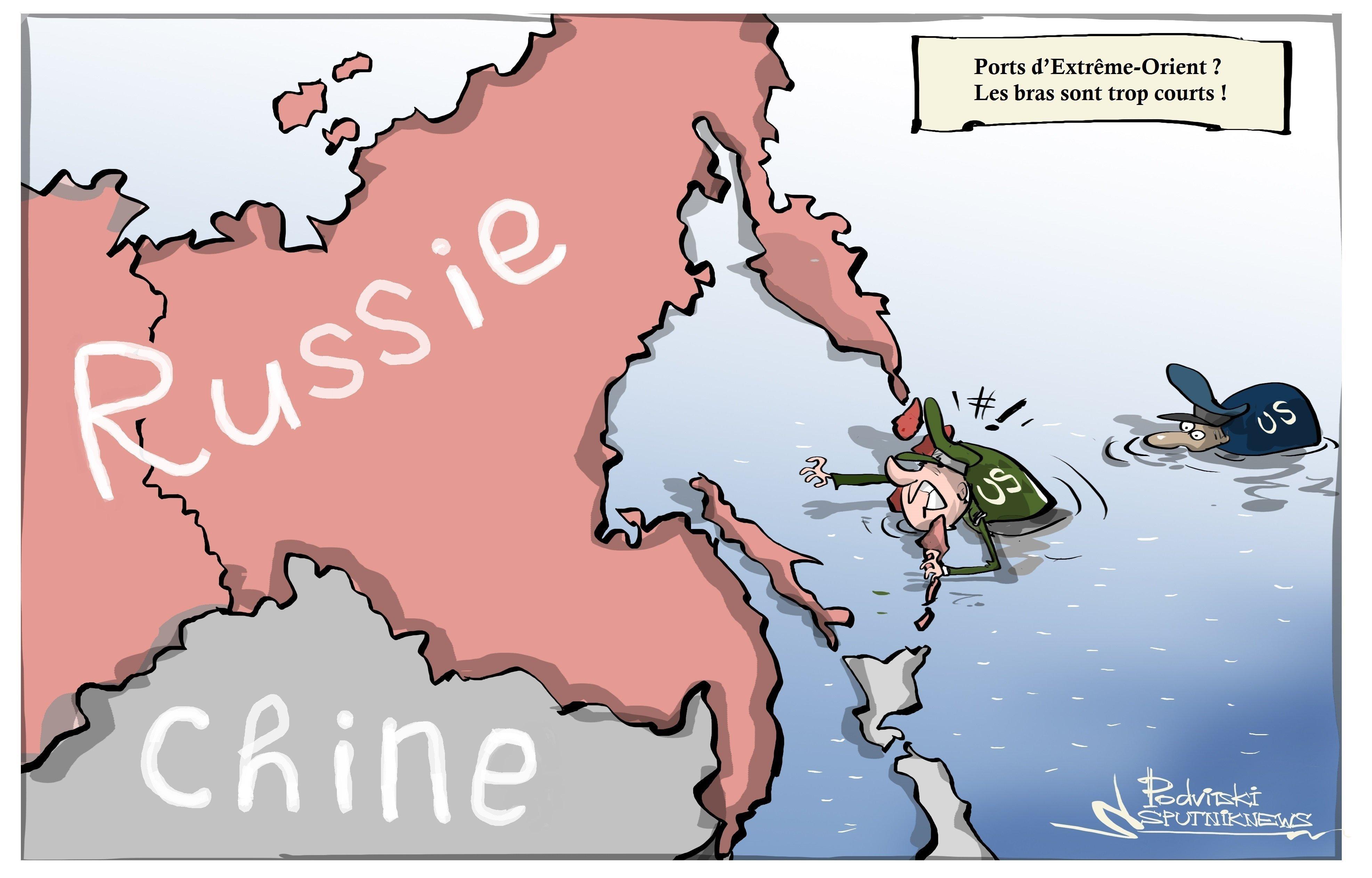 Les USA veulent surveiller les ports russes d'Extrême Orient